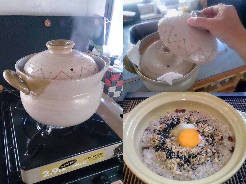 炊飯専用の中蓋つき土鍋で炊くと、ご飯がめちゃうまい!